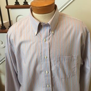 Brooks Bros 2XL Long Sleeve NON-IRON Shirt(NWOT)